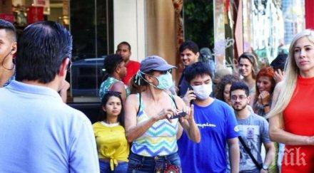 ужасяващо близо 000 новозаразени коронавируса бразилия последното денонощие