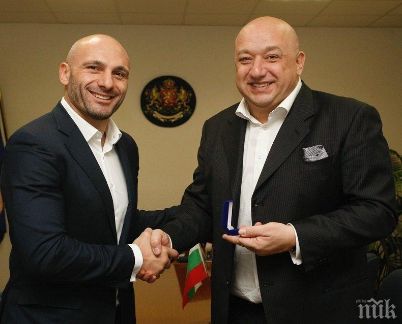 Родната федерация по MMA подкрепи правителството и благодари за развитието на спорта