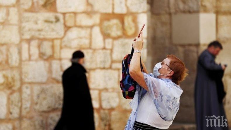 Заразените с коронавируса в Израел достигнаха 43 668 души