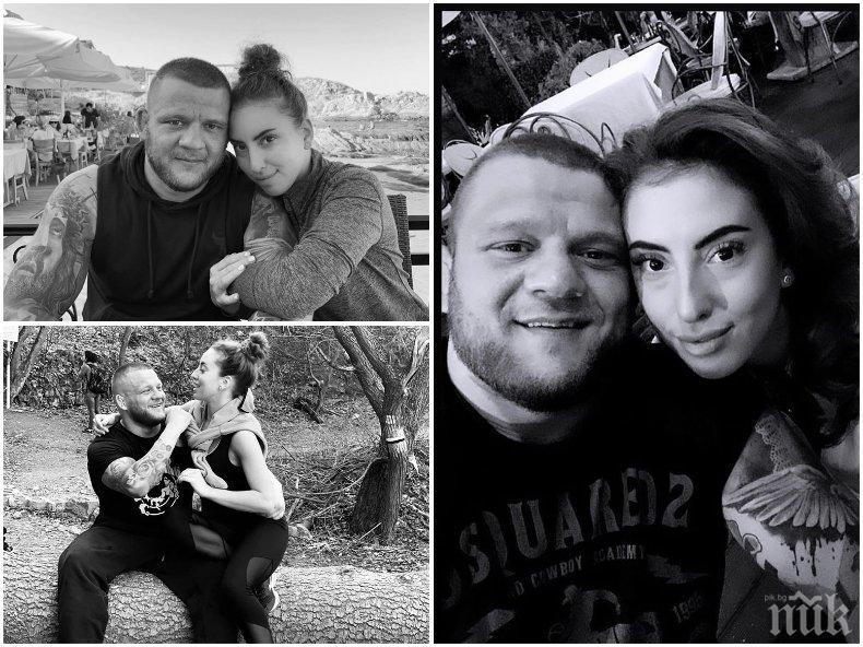 ОГРОМНА ТРАГЕДИЯ! Златното момиче Катрин Тасева изля душата си за убития от коронавирус Николай Щерев