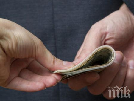 Задържаха главен данъчен инспектор за подкуп от 10 бона във Варна