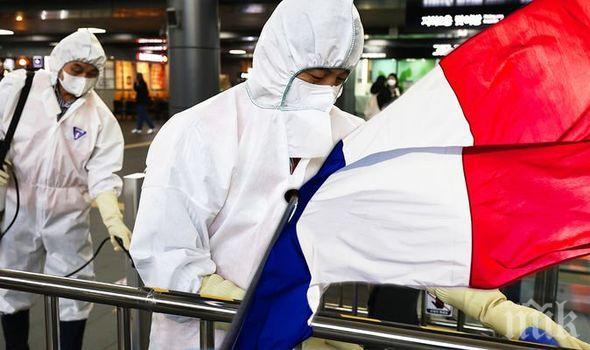 Близо 27 000 новозаразени с коронавируса във Франция за денонощие