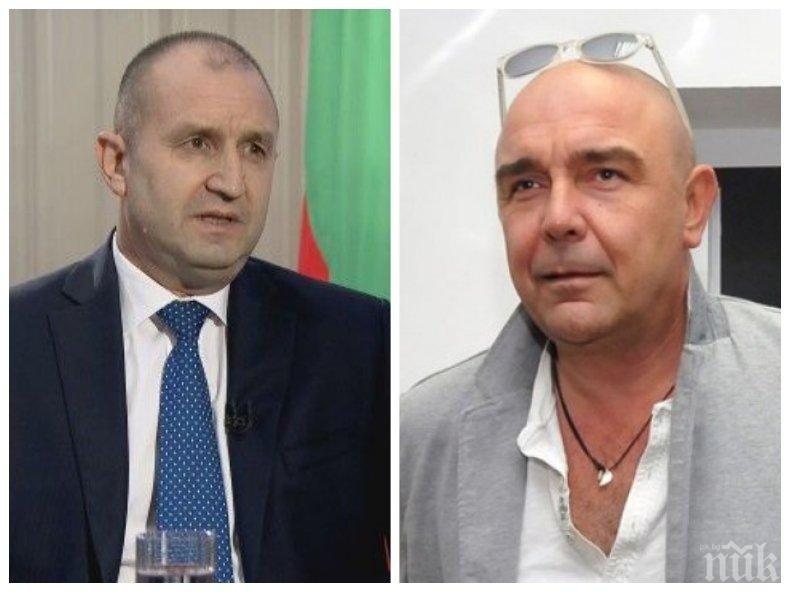 """Актьорът Калин Сърменов в ПИК и """"Ретро"""": Радев насъсква хората един срещу друг"""