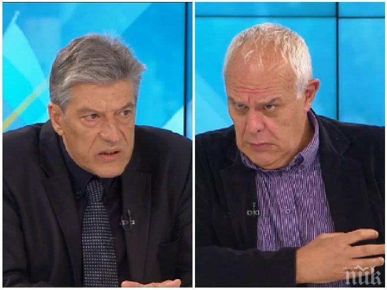 Андрей Райчев и Антоний Гълъбов в жесток сблъсък за протестите и политическите реакции - да подаде ли оставка Радев