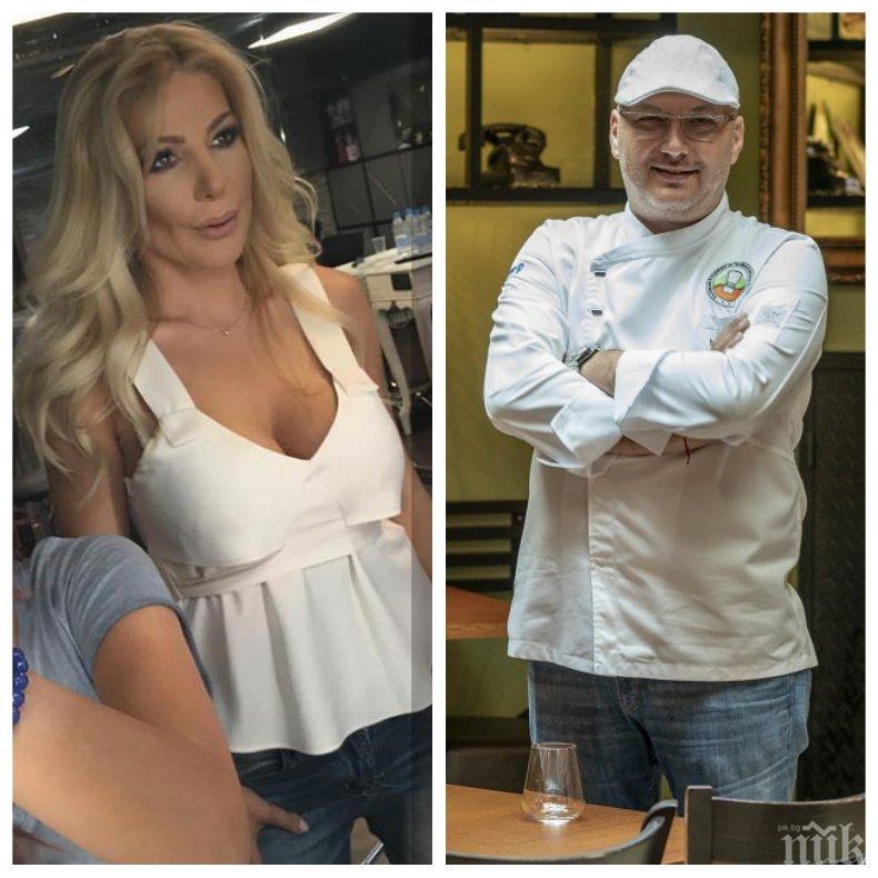 Гаджето на шеф Манчев - първа дружка с Анелия (СНИМКА)