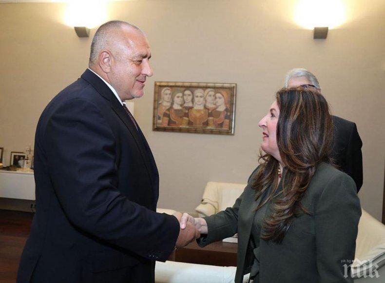 ИЗВЪНРЕДНО В ПИК: Премиерът Борисов на среща с американския посланик Херо Мустафа