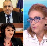 Татяна Буруджиева с гореща прогноза: По-вероятно е експертно правителство, подкрепено от център-дясно