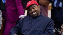 Рапърът Кание Уест организира първо предизборно мероприятие в кампанията си за президент на САЩ