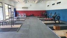 Нова зала очаква щангистите ни на Белмекен