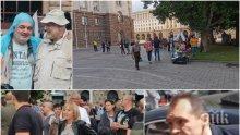 РАЗКРИТИЕ: БСП карат с автобуси партийци към София - подсилват оределите агитки на Божков (СНИМКИ/ВИДЕО)