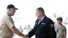 """Висока оценка за Военноморските сили след международното учение """"Бриз 2020"""" (СНИМКИ)"""