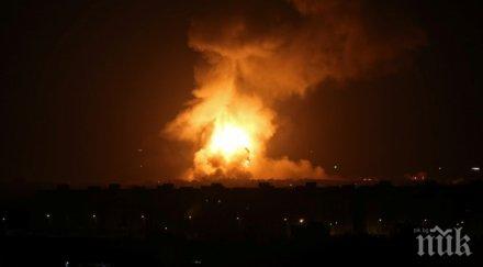 две ракети удариха американското посолство багдад