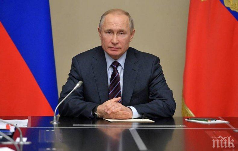 Владимир Путин уволни обвинения за поръчкови убийства губернатор на Хабаровския край