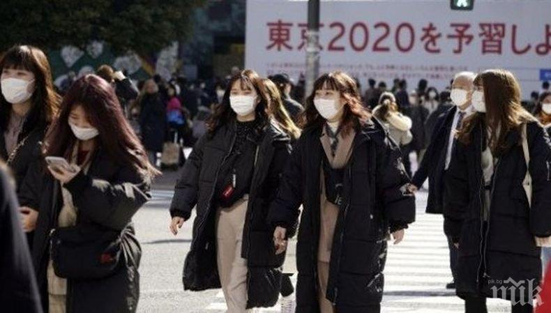 Над 200 новозаразени с коронавируса за денонощие в Токио