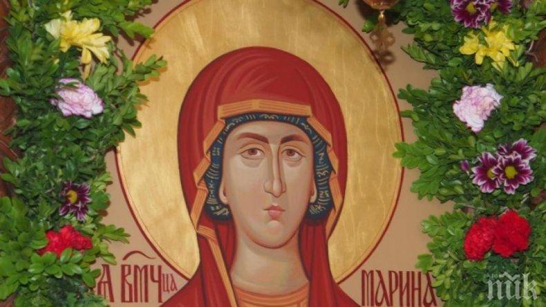 ГОЛЯМ ПРАЗНИК: Почитаме една от обичаните светици в България - шест хубави имена имат повод да почерпят