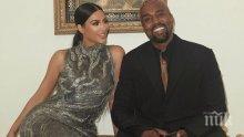 СЕМЕЙНИ ДРАМИ: Кание Уест опитва да се разведе с Ким Кардашян от две години