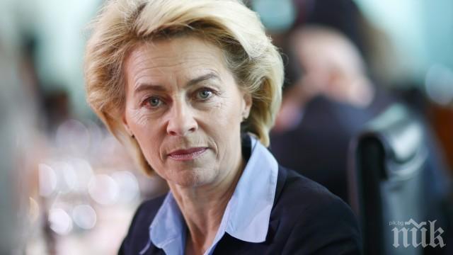 Урсула Фон дер Лайен: Затварянето на границите на ЕС е безсмислено