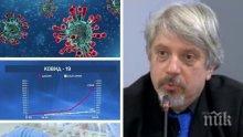 АЛАРМА! Математикът проф. Николай Витанов предупреди: С този темп на заболели здравната система ще блокира - до декември заразените ще са шестцифрено число