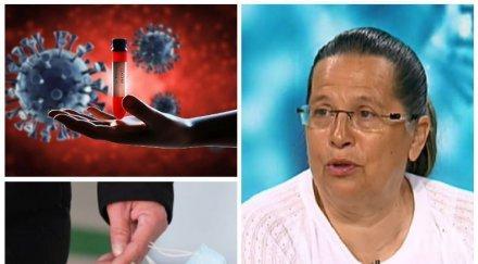 пандемичен вопъл гергана николова лекарския съюз хора слагайте маски боли добре тях отколкото апарат болницата