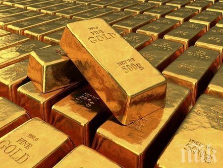 Цената на златото достигна най-високото си ниво за всички времена