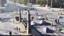 """СТАВА СТРАШНО: Столичани готвят отряд срещу метежниците на Бабикян и Божков, окупирали """"Орлов мост"""""""