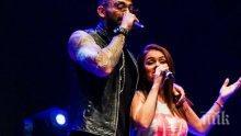 Фолк певецът Меди запя със сестрата на Преслава