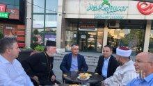 Кмет, поп и мюфтия пиха кафе в знак на толерантност в Кърджали