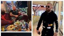 КРИМИ ДОСИЕ: Ловеца на бежанци Динко Вълев преби италианец с хватка от кеча