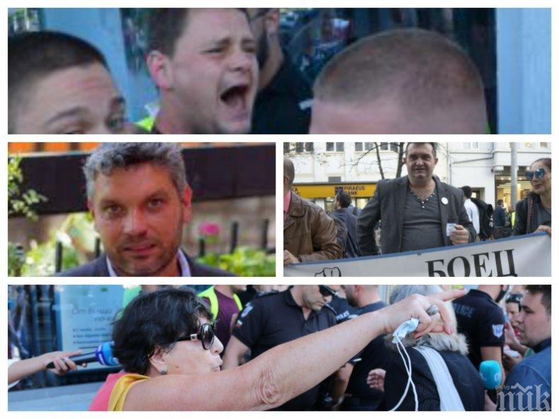 """РАЗКРИТИЕ: Криминални типове на незаконната блокада на """"Орлов мост"""" - говорителят Тихомир Василев арестуван за менте търговия"""
