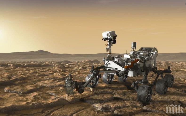 Пърси ни зарадва със зрелищна панорамна снимка на Марс (ВИДЕО)