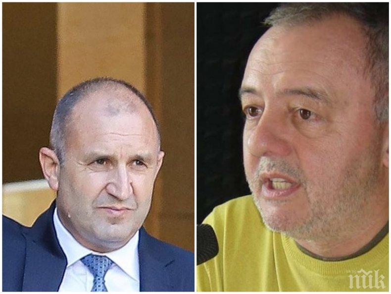 Олег Ковачев: Абсолютно съм възмутен, че Борисов е псувал Радев няколко пъти за една минута. Само няколко!