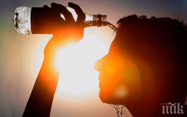 Убийственни жеги връхлитат Пловдив