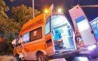 76-годишна жена е с опасност за живота след катастрофа край Сливен