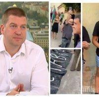 Кметът Живко Тодоров: Изпълнителната комисия на ГЕРБ иска разследване на компроматите срещу Борисов. Никой няма право да протестира пред дома му - близките му са травмирани!