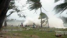 Разрушителният циклон Исаяс достигна Канада