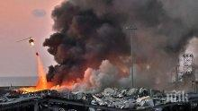 Дрон засне чудовищните разрушения след взривовете в Бейрут (ВИДЕО)