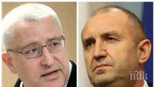 Светослав Малинов скочи на президента: Не може Радав да задава тона на протестите