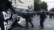 Демократката Меркел разгони анархо-комунистите в Берлин. Демократът Борисов им позволява да тормозят София