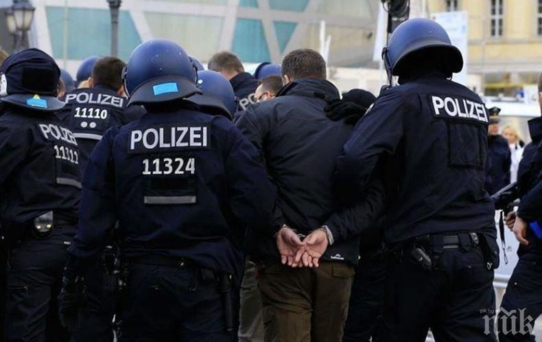 Най-малко 18 полицаи са ранени при демонстрацията срещу ограничителните мерки заради коронавируса в Берлин
