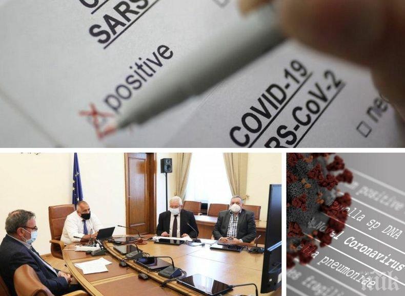 ИЗВЪНРЕДНО В ПИК: Черен рекорд с 16 жертви на коронавируса! Новозаразените са 204