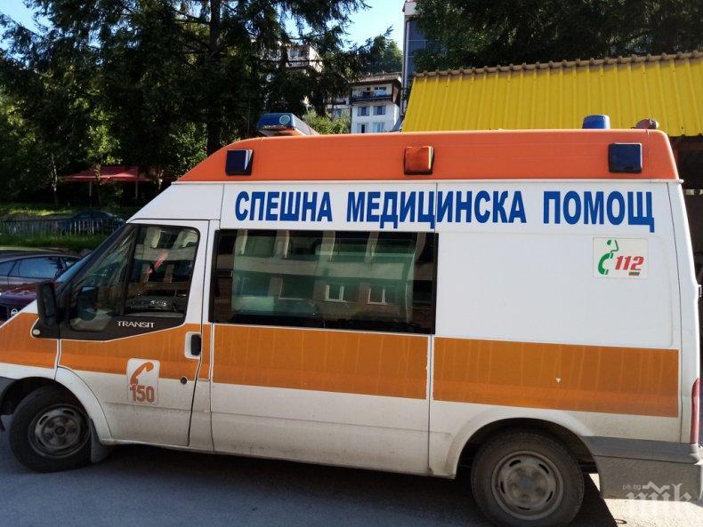 Ремарке затисна 59-годишен в Смолян, потрошеният мъж бере душа в болница