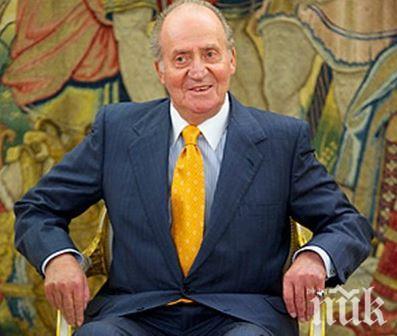 Бившият крал на Испания отива в изгнание заради корупция