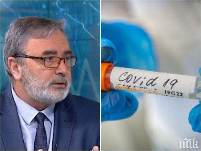 Доц. Ангел Кунчев с тревожен коментар за разпространението на COVID-19 - какви са рисковете, ако заразата продължи да нараства