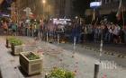 ПРОВОКАЦИЯ В СОФИЯ! Протестиращите атакуваха сградата на НФСБ, нахъсва ги Николай Хаджигенов