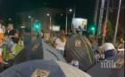 БЛОКАДАТА В ПЛОВДИВ: Палаткаджиите обсадиха ключово кръстовище