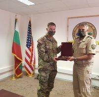 Адмирал Емил Ефтимов се срещна с началник-щаба на Сухопътните войски на САЩ генерал Джеймс Макконвил
