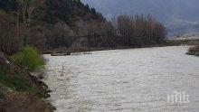 РИОСВ-София взе проби след сигнал за замърсяване на река Струма