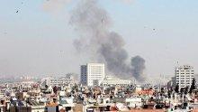 Американска военна база в Сирия бе подложена на обстрел