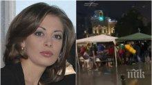 Тв водещата Данила Тренчева с история за блокираните линейки на Орлов мост. 10-ина секунди са животоспасявящи...