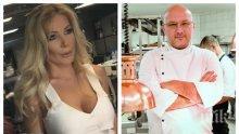 САМО В ПИК TV: Влюбеният шеф Манчев глези новата си жена с див лаврак за 1000 лв. на пир край морския бряг